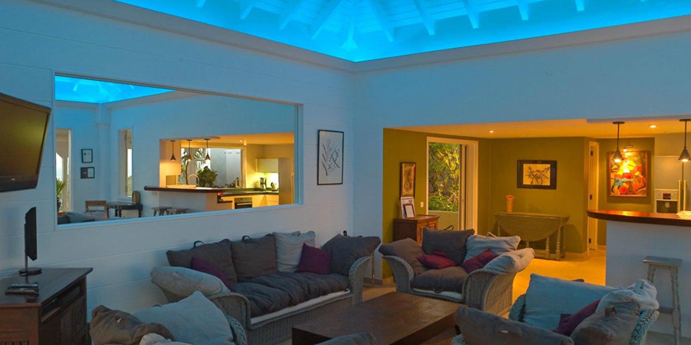 Living Room Mood Lighting  Living Room