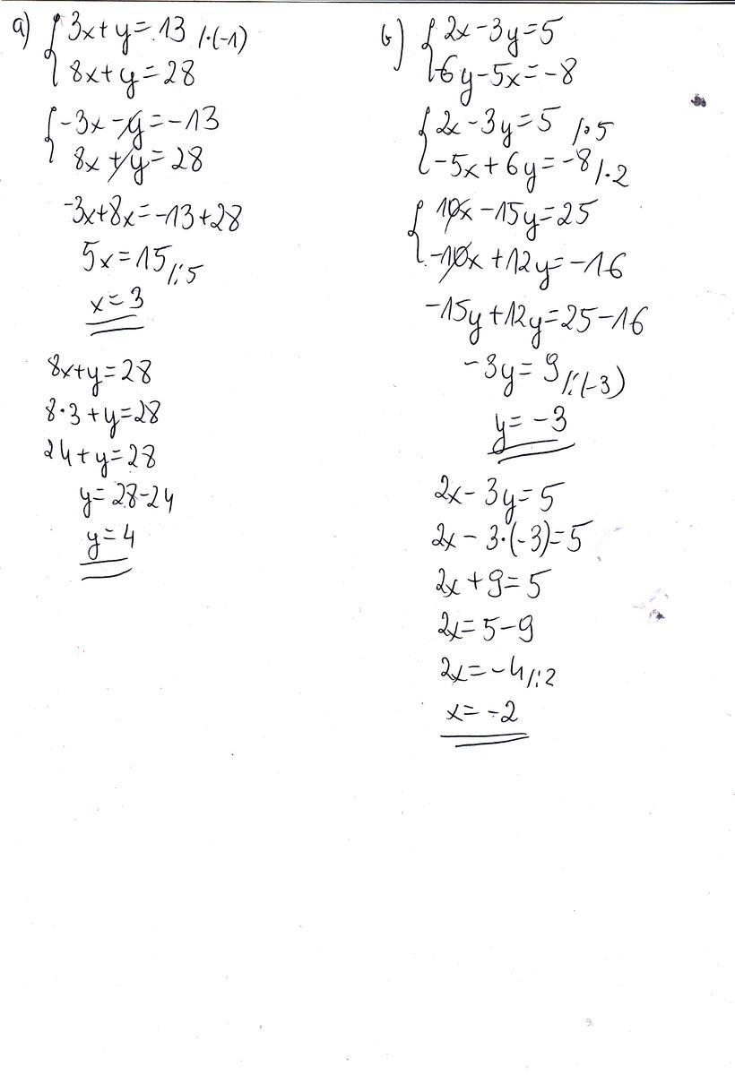 Zadanie 2 te dwa podpunkty :) metoda przeciwnych