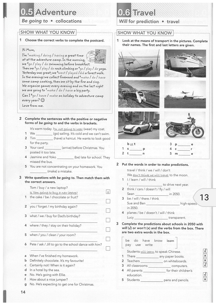 Bestseller: Gateway 1 Workbook Odpowiedzi