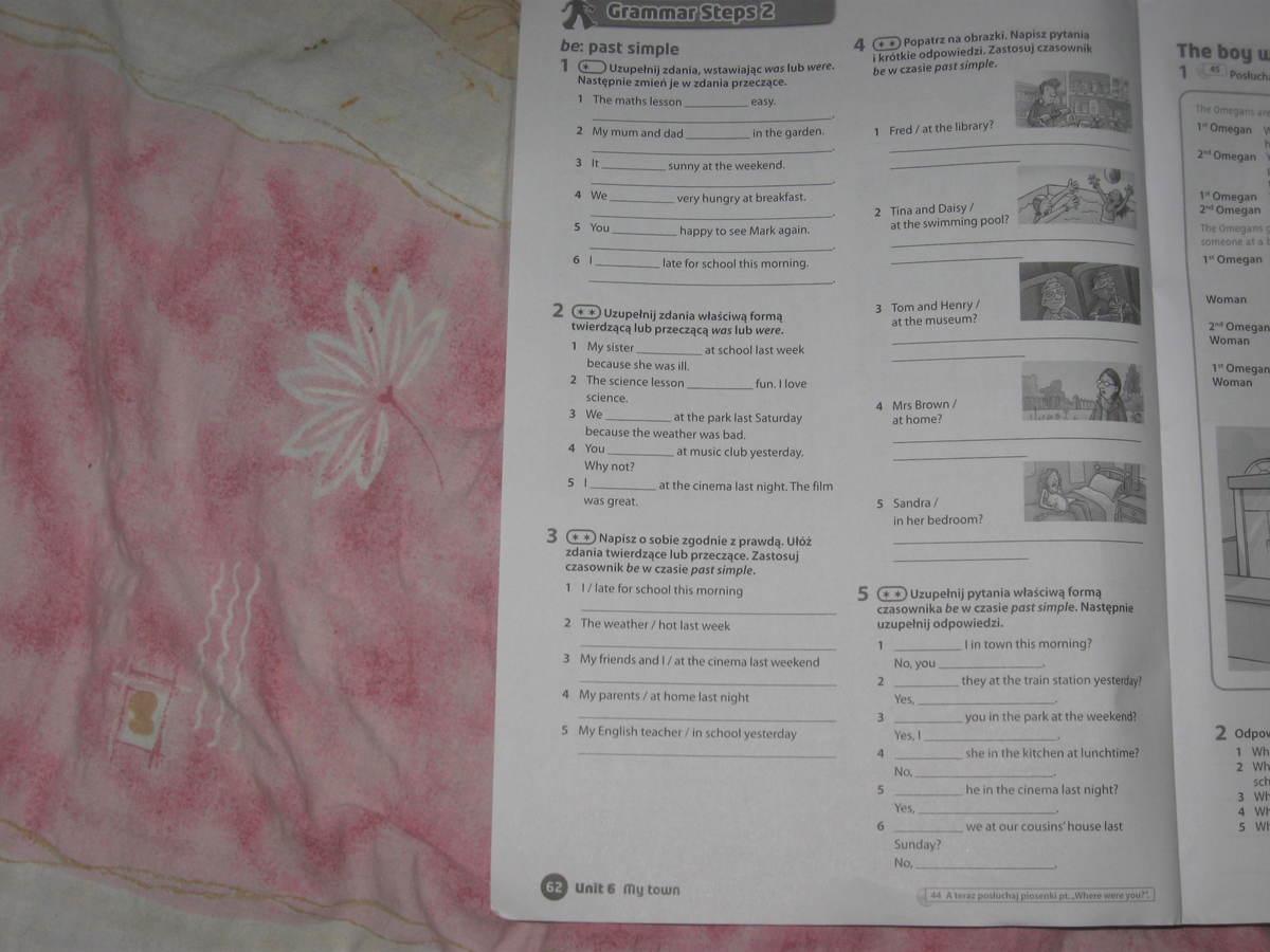 Steps2 Klasa 5 Strona 61 I 62 Prosze Dokladnie