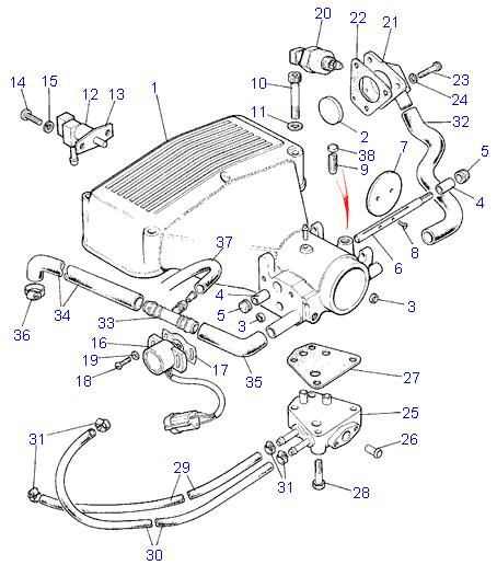 Intake Plenum 2000 Ford Explorer Engine Diagram, Intake