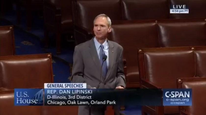 Wystąpienie Daniela Lipinskiego w Izbie Reprezentantów