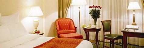 Pokój w hotelu Marriott Warszawa