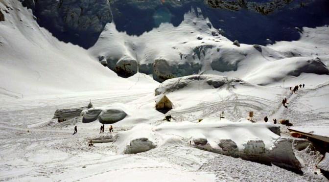 Hotel lodowy w Rumunii