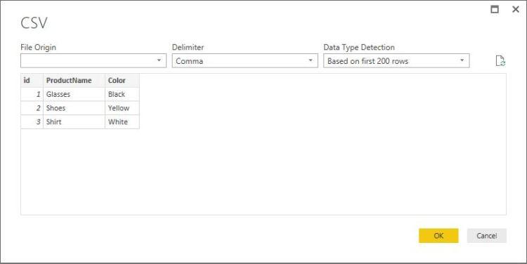 PowerBI- Folder connection5