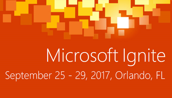 Microsoft Ignite 2017 Banner