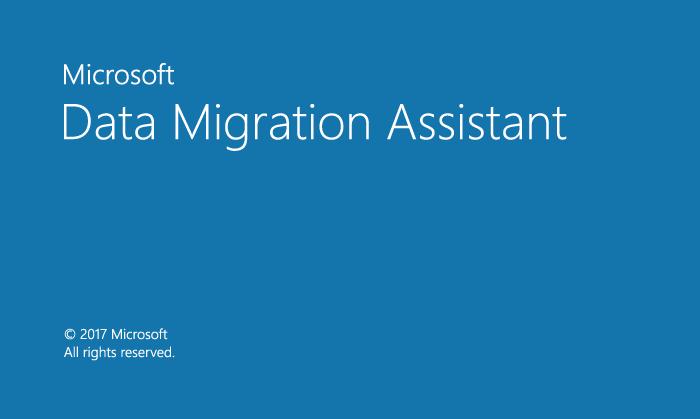 Data Migration Assistant