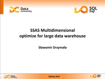SSAS Multidimensionaloptimize for large data warehouse