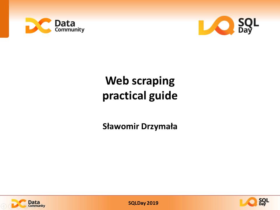 Web scrapping praktycznie