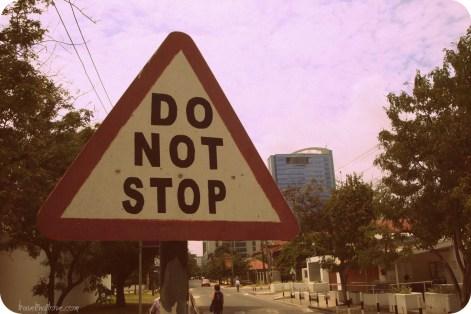 Do not stop PAYING. (Nie przestawaj PŁACIĆ)