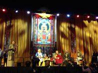 Dalai Lama Rotterdam Ahoy Tsering Jampa van ICT speech, foto BD, 11 mei 2014