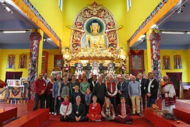 Leven van de boeddhistische organisaties binnen de EBU in Polen bijeen.