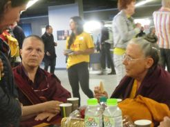 Dalai Lama Ahoy Rotterdam Arjan Schrier foto sept 2018