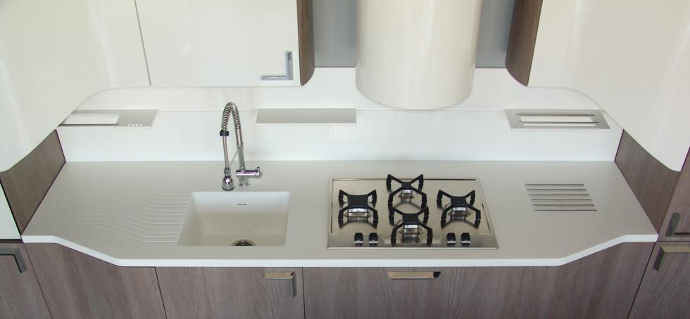 betacryl - pedra acrílica, uso em cozinha, móveis