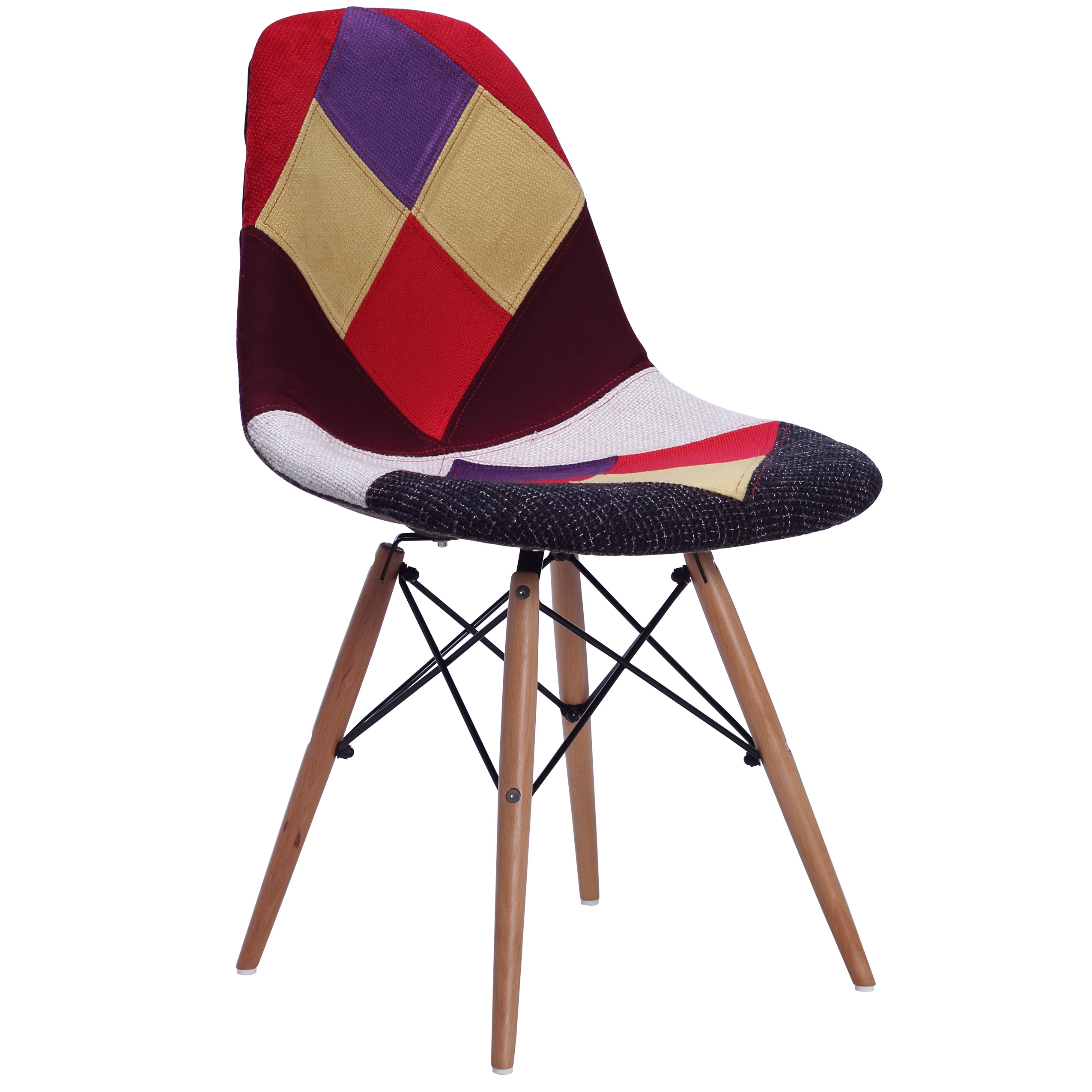 Dsw Chair Replica Eames Dsw Patchwork Dining Chair