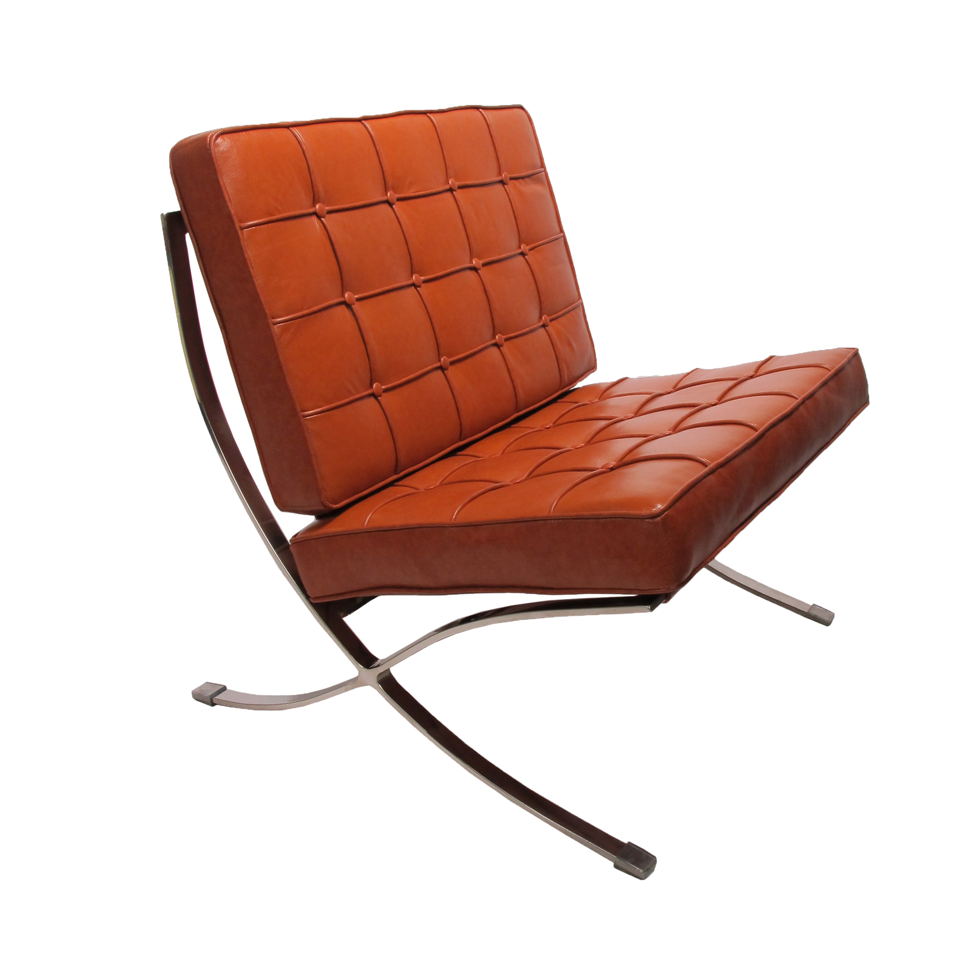 Barcelona Lounge Chair Replica Ludwig Mies Van Der Rohe Barcelona Lounge Set