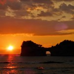 白浜円月島