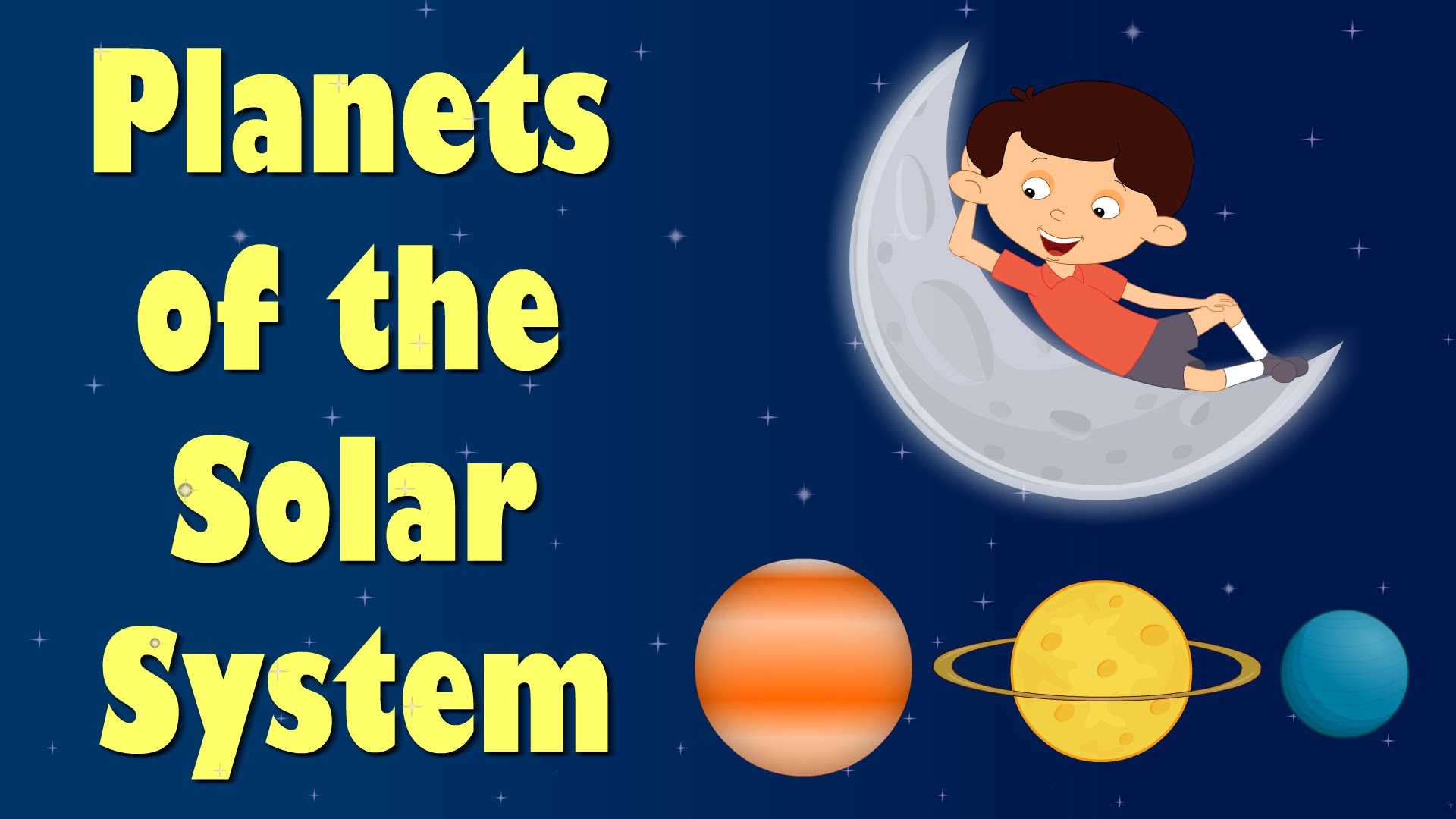 Planets Of The Solar System Videos For Kids