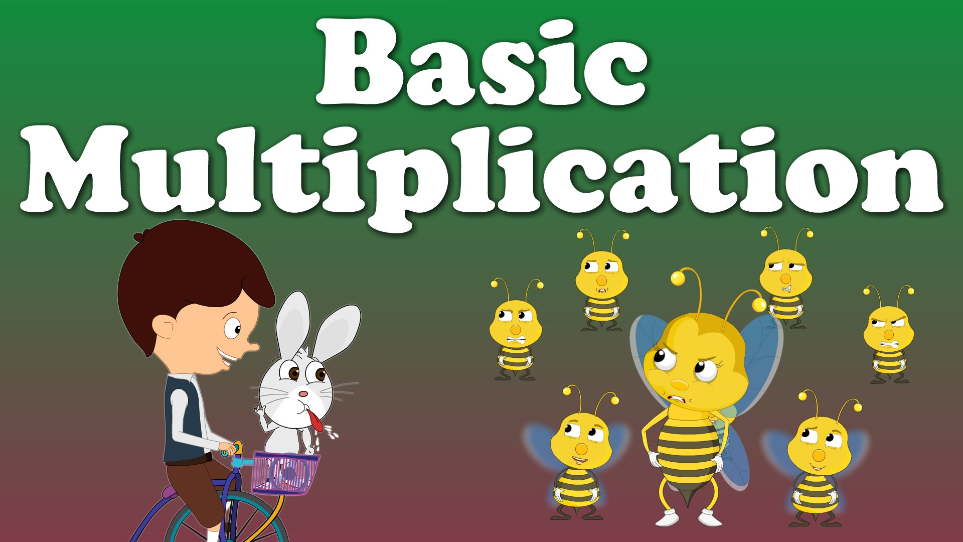 Basic Multiplication For Kids