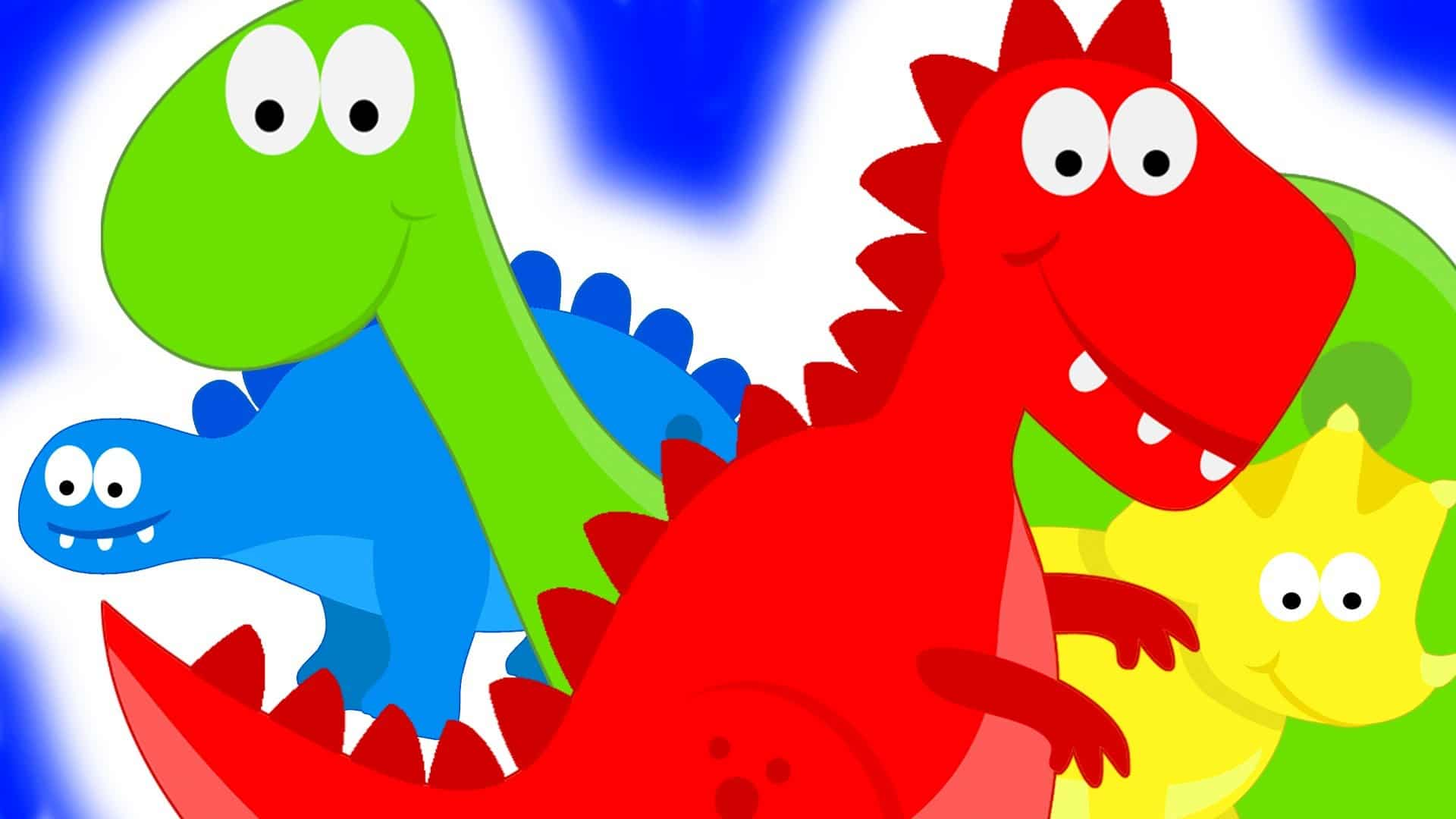 Dinosaurs Teaching Colors
