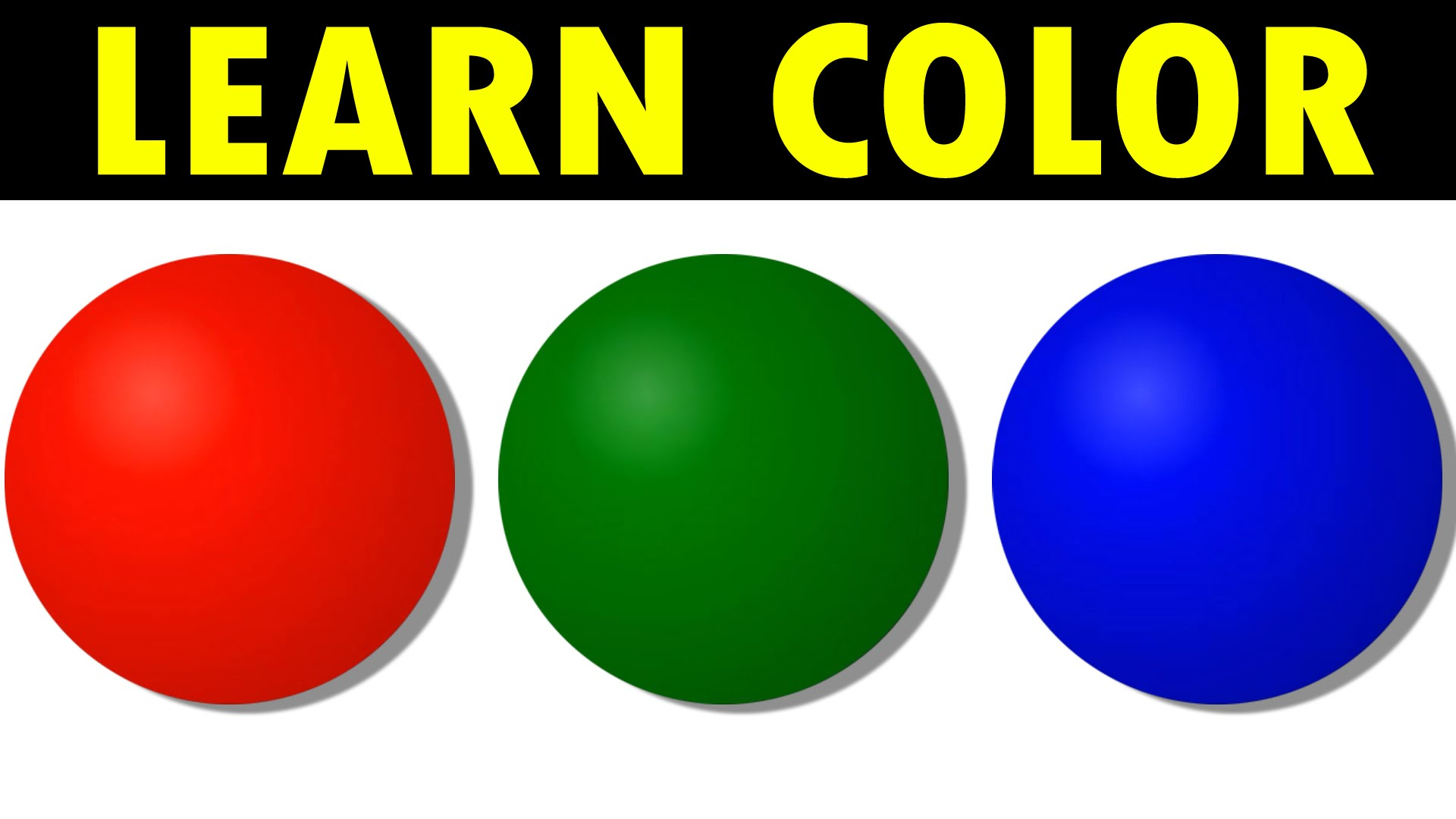 Colors For Children To Learn Colour Balls Rhymes Kids