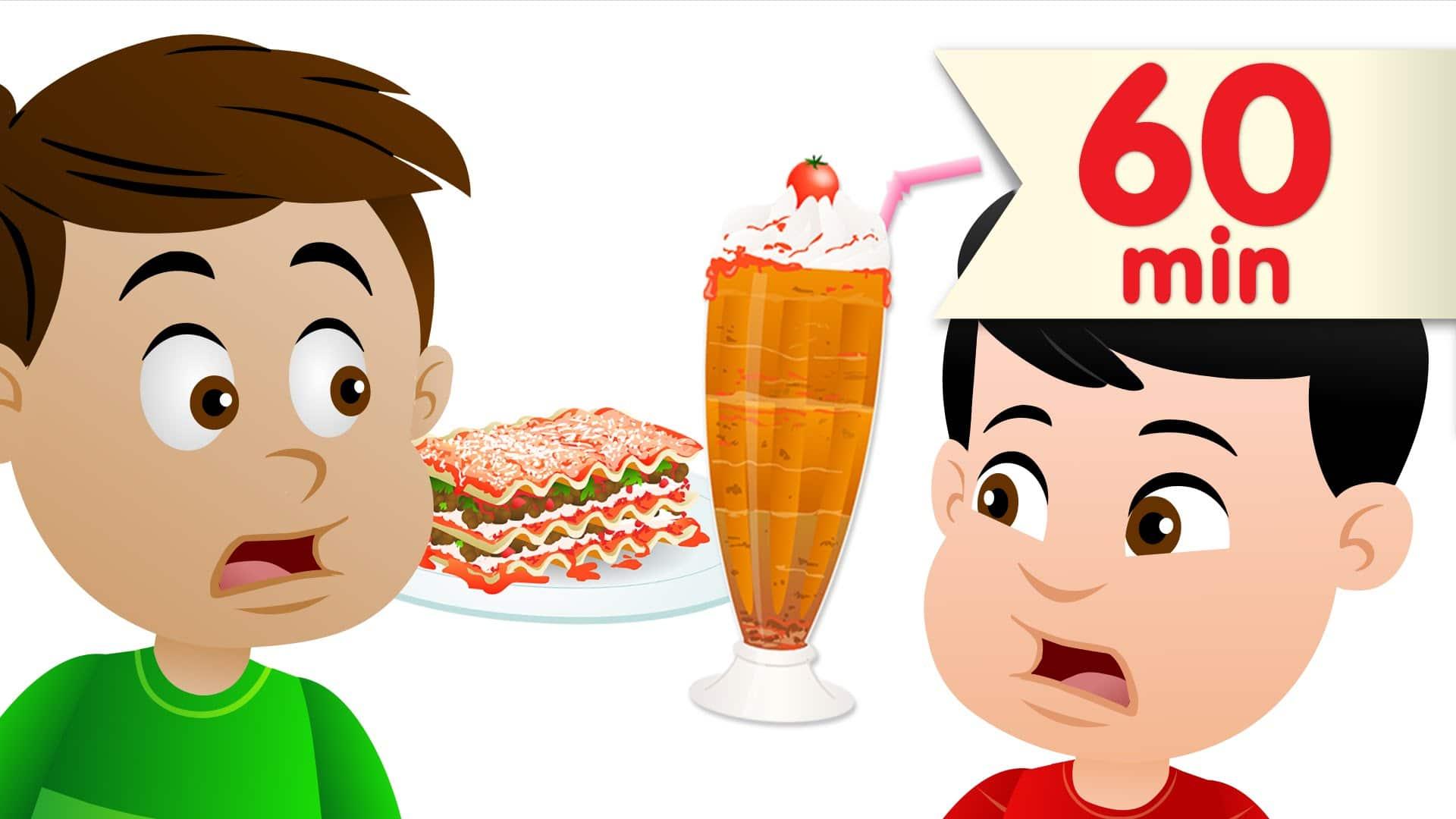 Do You Like Lasagna Milkshakes More Kids Songs Super Simple Songs
