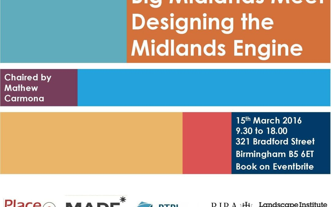 The Place Alliance Big Midlands Meet