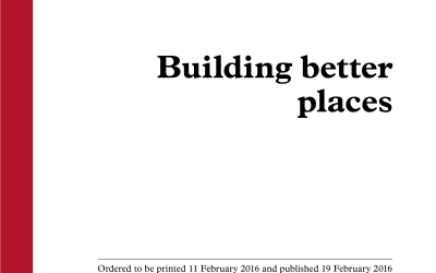 CAMPAIGN: Building Better Places