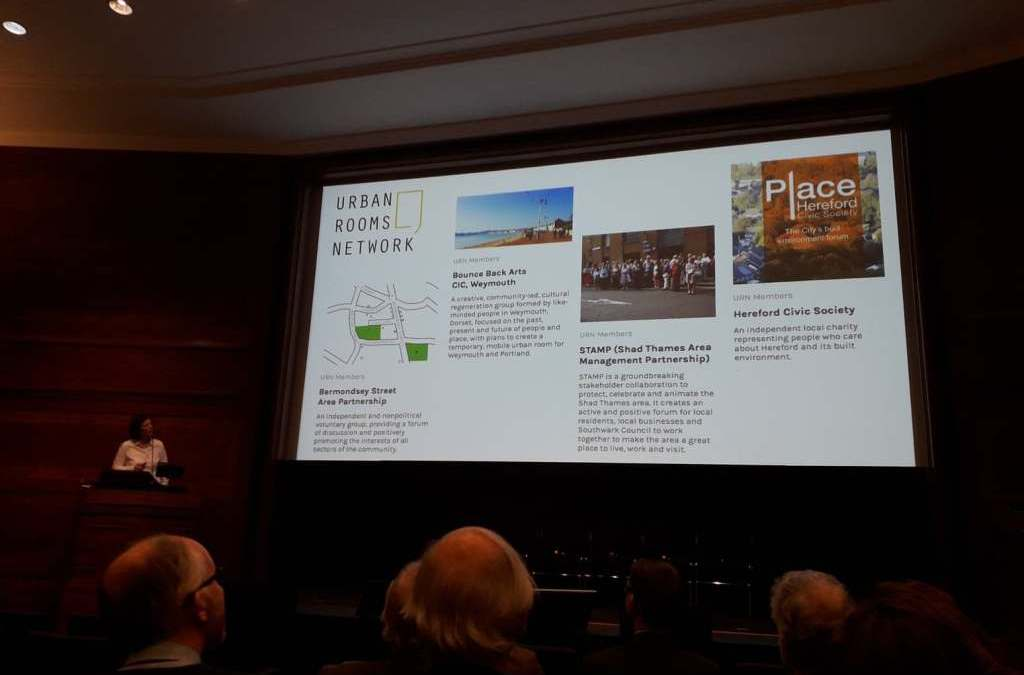 Chair of Urban Rooms Network speaks at The Farrell Review, 5 years on event at RIBA