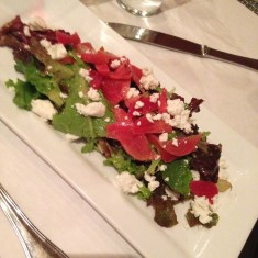 Red & Gold Beet Salad