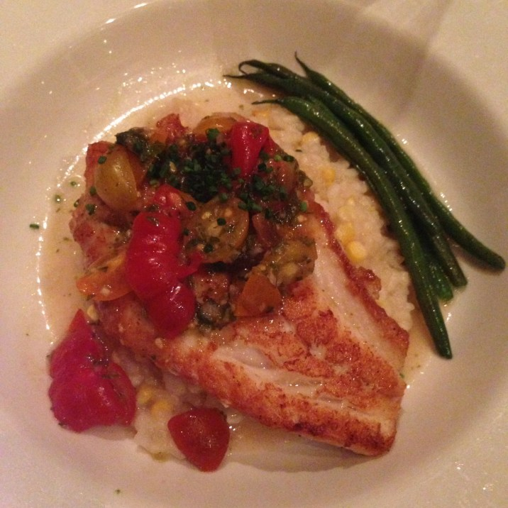 Sauteed Red Grouper