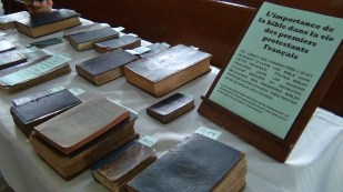 C'est dans cette église que les objets du Musée Feller sont présentement exposés.