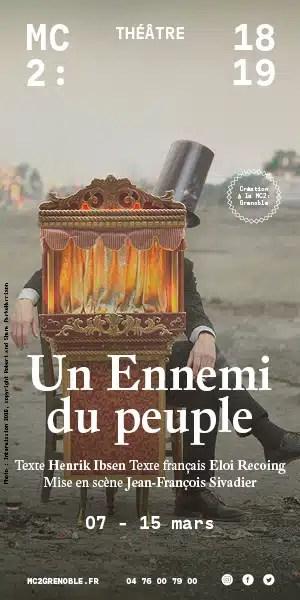 Un Ennemi Du Peuple Sivadier : ennemi, peuple, sivadier, PlaceGrenet_UnEnnemiDuPeuple_WEB_300x600px, Place, Gre'net