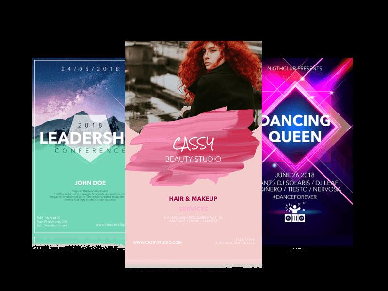 designing flyers online