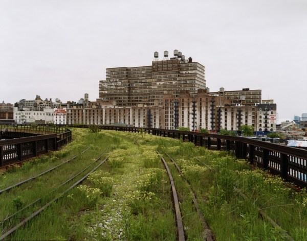 High Line Check Beautiful Aerial Greenway In