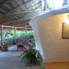Front Porch Table And Chairs Does Big Lots Have Bean Bag Pearl Beach Dome House   Placencia Rentals Belize ...