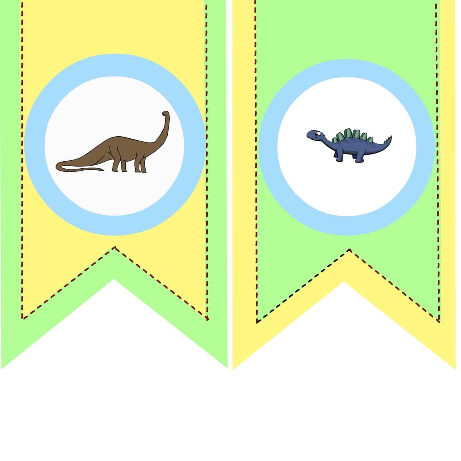 dinosaur themed birthday party
