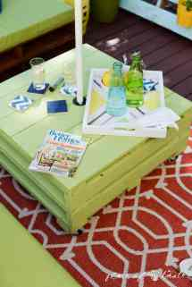 Diy Pallet Furniture Patio Makeover