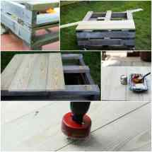 Diy Pallet Furniture Patio Makeover