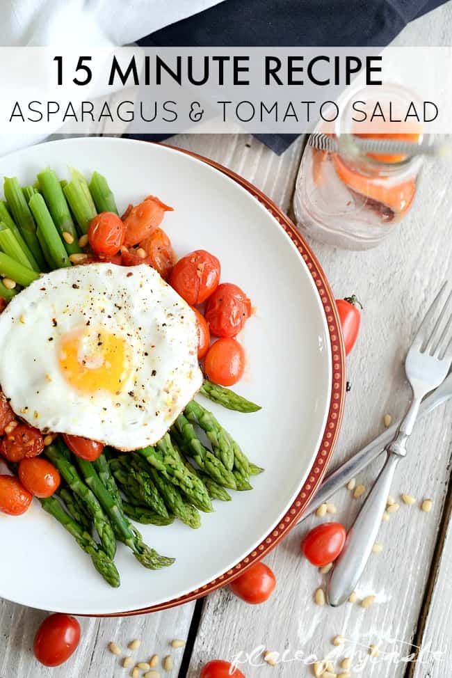 High-Heeled Love: Weekly Round-Up: Asparagus & Tomato Salad from Place of my Taste