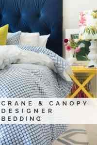 CRANE & CANOPY DESIGNER BEDDING