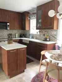 KITCHEN REVAMP - TWO-TONED MODERN KITCHEN - PLACE OF MY TASTE