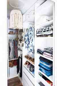 Walk-in Closet Makeover with IKEA PAX Wardrobe. This is ...