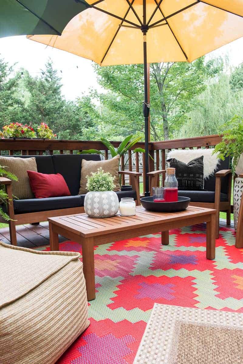 patio decor refresh with bed bath
