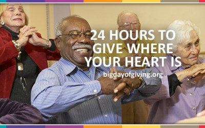 BIG Day of Giving is May 3rd!