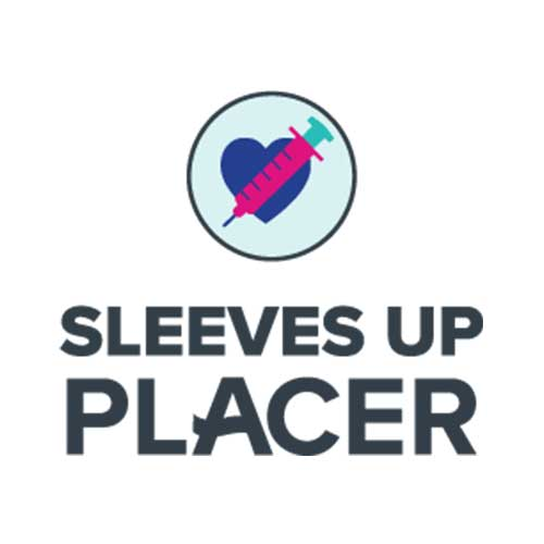 sleeves up placer logo