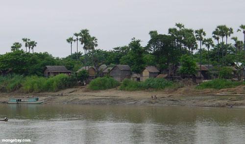 The Ayeyarwady (Irrawaddy) River, Myanmar.  Photo by Rhenda Glasco.