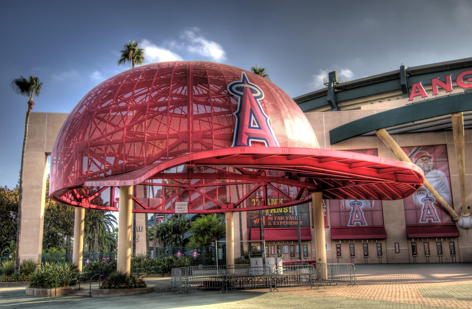 Anaheim, CA - Angels Stadium HDR
