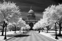 Austin Tx Capitol Building Infrared Places 2 Explore