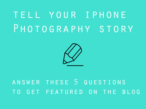 Get featured on the blog - Google form questionnaire